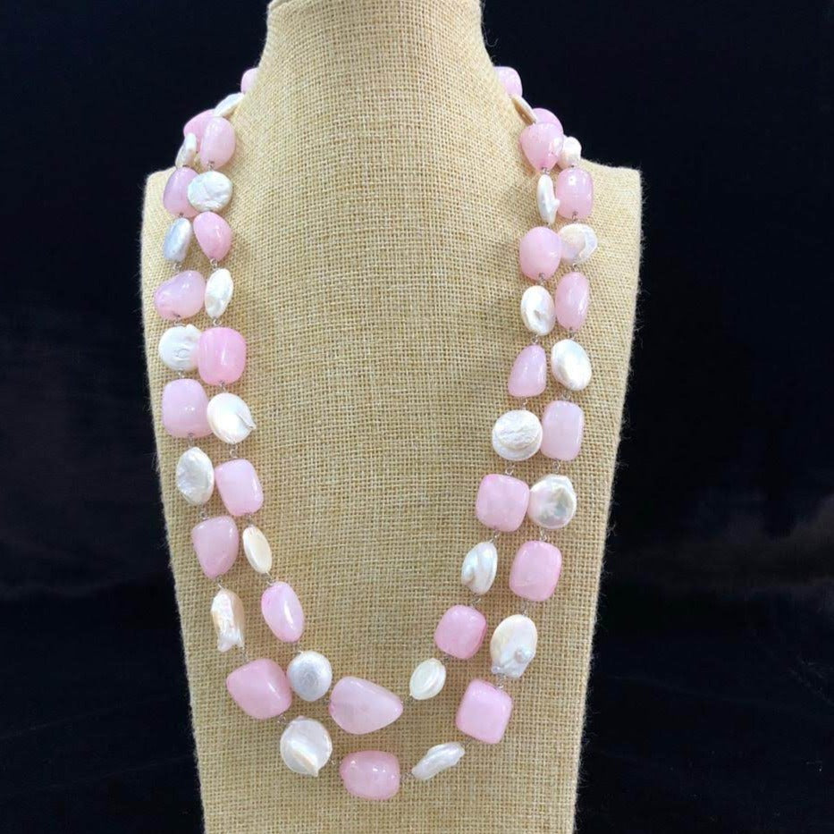 Blush Pink Necklace
