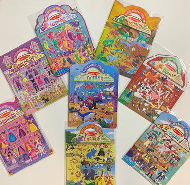 Melissa and Doug Sticker Books