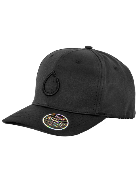 Salt Snapback Cap - Embroidered Salt Drop