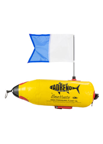 Adreno FG Inflatable Float with Flag - 15L