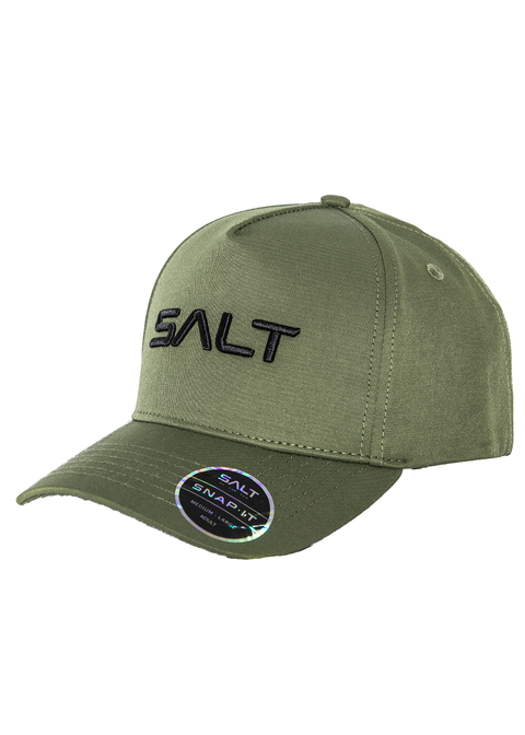 Salt Snapback Cap - Embroidered Salt Logo