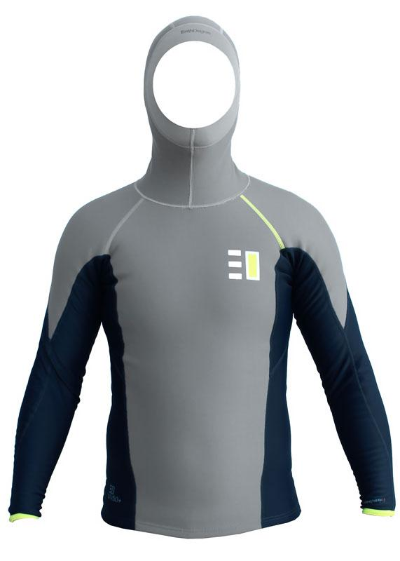 Enth Degree Mens Nekton Hooded Long Sleeve Thermal Top