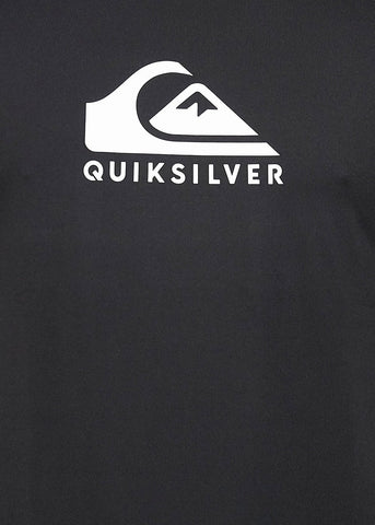 Quiksilver Mens Solid Streak Long Sleeve Rash Guard