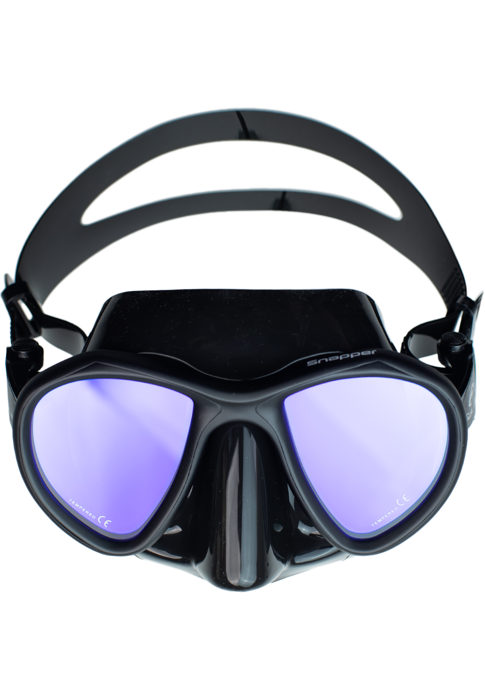 Rob Allen Snapper Mask - Black w/ Tinted Lens