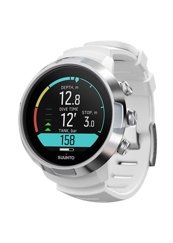 Suunto D5 White / Silver with USB Cable