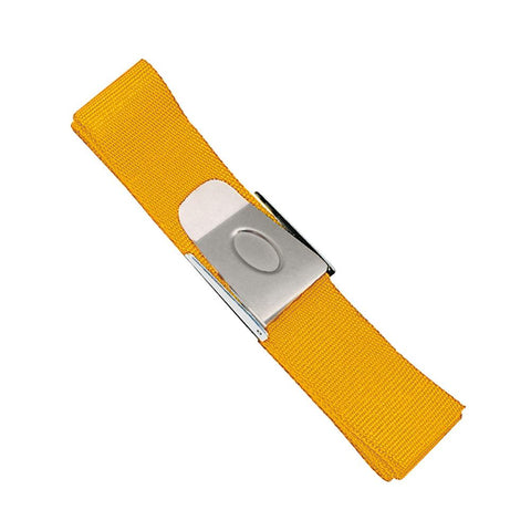 Problue Weight Belt with Stainless Steel Buckle Yellow