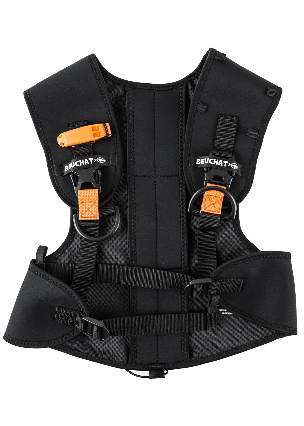 Beuchat Weight Harness with quick release system - adjustable up to 8 kg - universal size