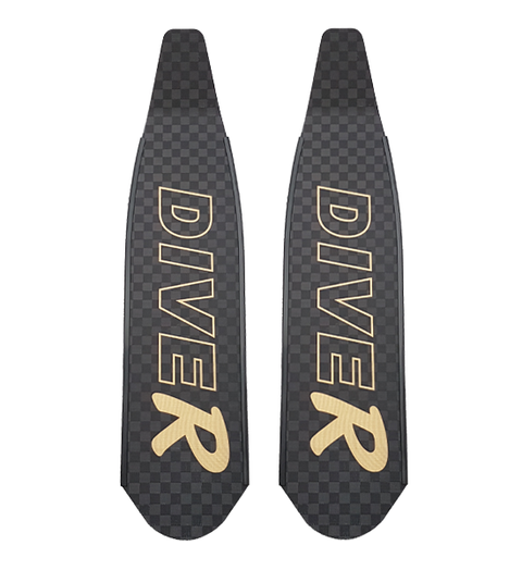 DiveR Ultra Carbon Freediving Blades