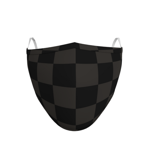 Pack of 3 Chequered Face Coverings (from £5 per mask)
