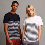 Front Row Short Sleeve Breton T-Shirt