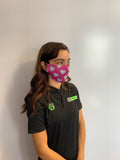 Pack of 3 Heart Face Coverings (from £5 per mask)