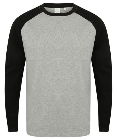 SF Men's Long Sleeve Baseball T-Shirt