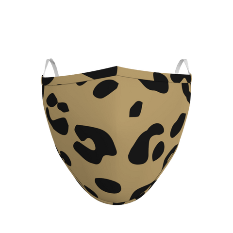 Pack of 3 Leopard Face Coverings (from £5 per mask)