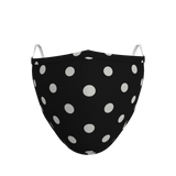Pack of 3 Polka Dot Face Coverings (from £5 per mask)