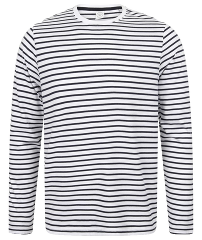 SF Unisex Long Sleeve Stripe T-Shirt