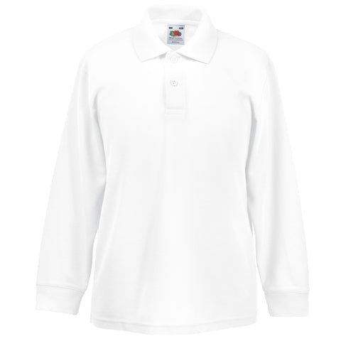 Fruit of the Loom Children's Long Sleeve Polo