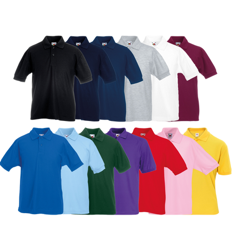 Fruit of the Loom Children's Pique Polo