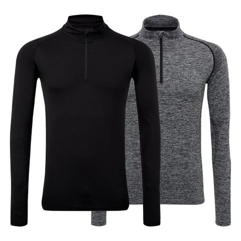 TriDri® Seamless '3D fit' Multi-Sport Performance Zip Top