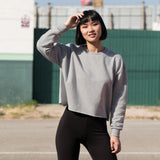 SF Women's Cropped Slounge Sweatshirt