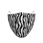 Pack of 3 Zebra Face Coverings (from £5 per mask)