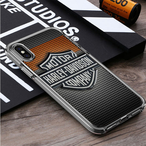 HARLEY DAVIDSON COMPANY iPhone X, iPhone XS, iPhone XS Max, iPhone XR Case