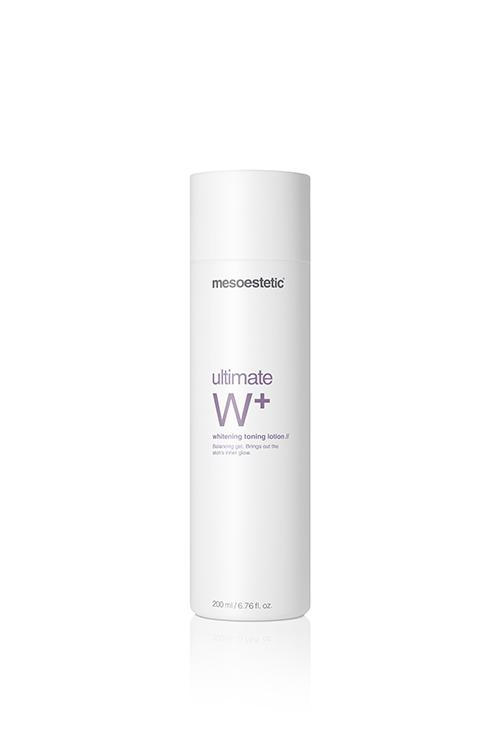 ultimateW+whitening toning lotion