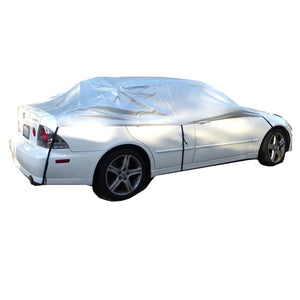 Car Snow and Windshield Sun Shade Full Top Cover fits Small to Mid Size Car - Covered Living