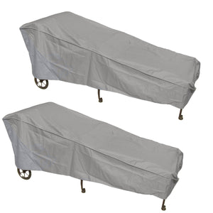 2-Pack Patio Chaise Covers