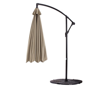 Patio Umbrella Replacement Canopy Cantilever Hanging 10 Ft - Covered Living