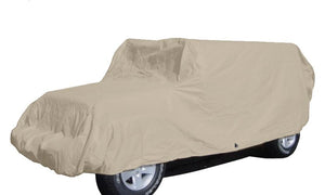 Jeep Cover fits 2007-2020 Jeep Wrangler 4 doors Unlimited in Taupe - Covered Living