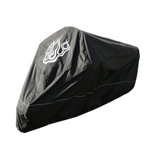 premium-heavy-duty-flame-design-motorcycle-cover-black