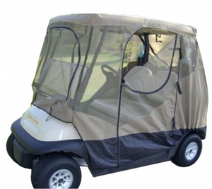 "golf-cart-mosquito-netting-driving-enclosure-cover-short-roof-58""-long-2-passenger"