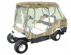 "golf-cart-driving-enclosure-cover-EZGO-Club-Car-Yamaha-G-short-roof-58""L-4-passenger"
