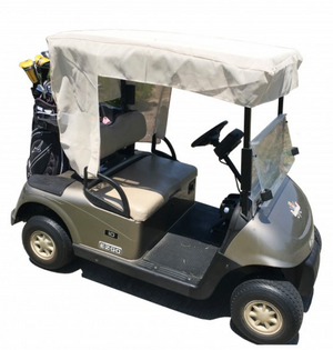 golf-cart-sun-shade-UV-mesh-roof-cover-EZGO-club-car-Yamaha-G-beige