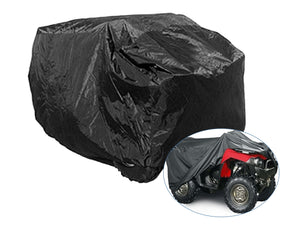 Heavy Duty ATV Quad Cover - All Weather Protection - Black, M - XXL