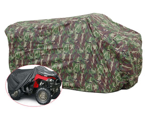 Heavy Duty ATV Quad Cover - All Weather Protection - Camouflage, XXL