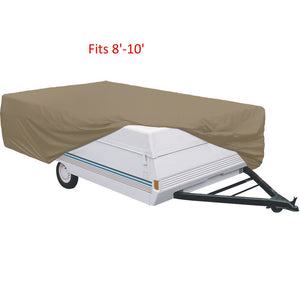 Pop Up Camper Tent Trailer Cover - 5 sizes available from 8ft up to 16ft