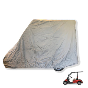 2 Passenger Golf Cart Storage Cover for E-Z-GO 2FIVE in Grey