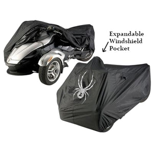 Heavy Duty Can-Am Spyder Indoor Outdoor - Full Cover, Black