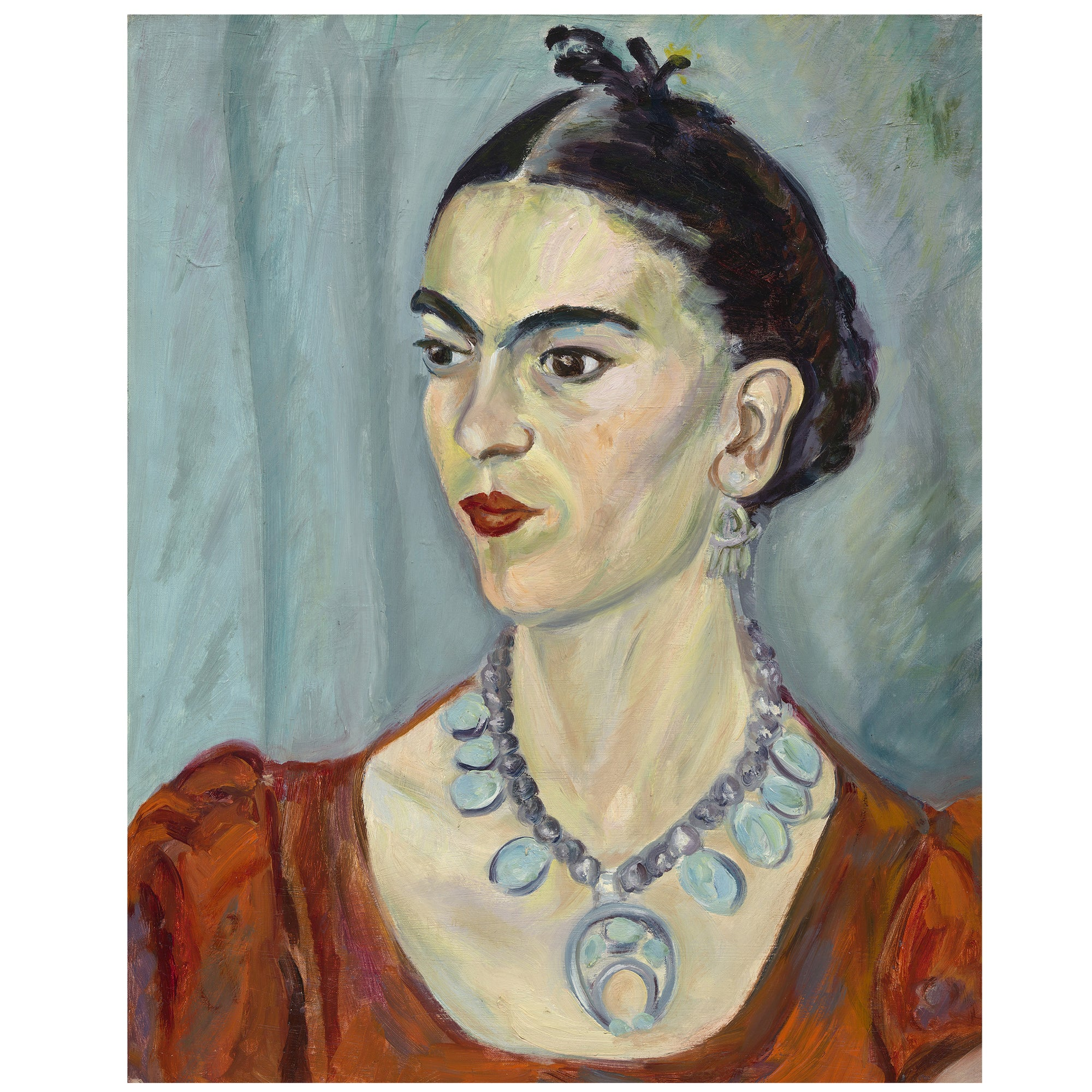 Frida Kahlo  print Attica Press
