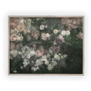May Flowers vintage poster print framed