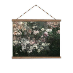 May Flowers vintage  canvas wall chart