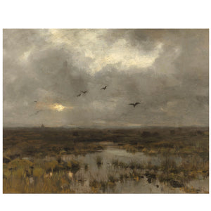 Vintage landscape Marshlands - Attica Press