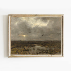 Vintage landscape - The Marshlands