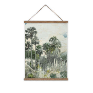 Florida jungle vintage wall chart