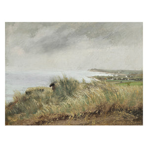 Sea view vintage oil painting - Attica Press
