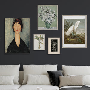 Vintage gallery wall 1