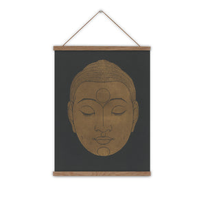 Buddhist art canvas wall chart