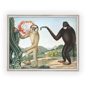 Vintage wall art kids room the Gibbons