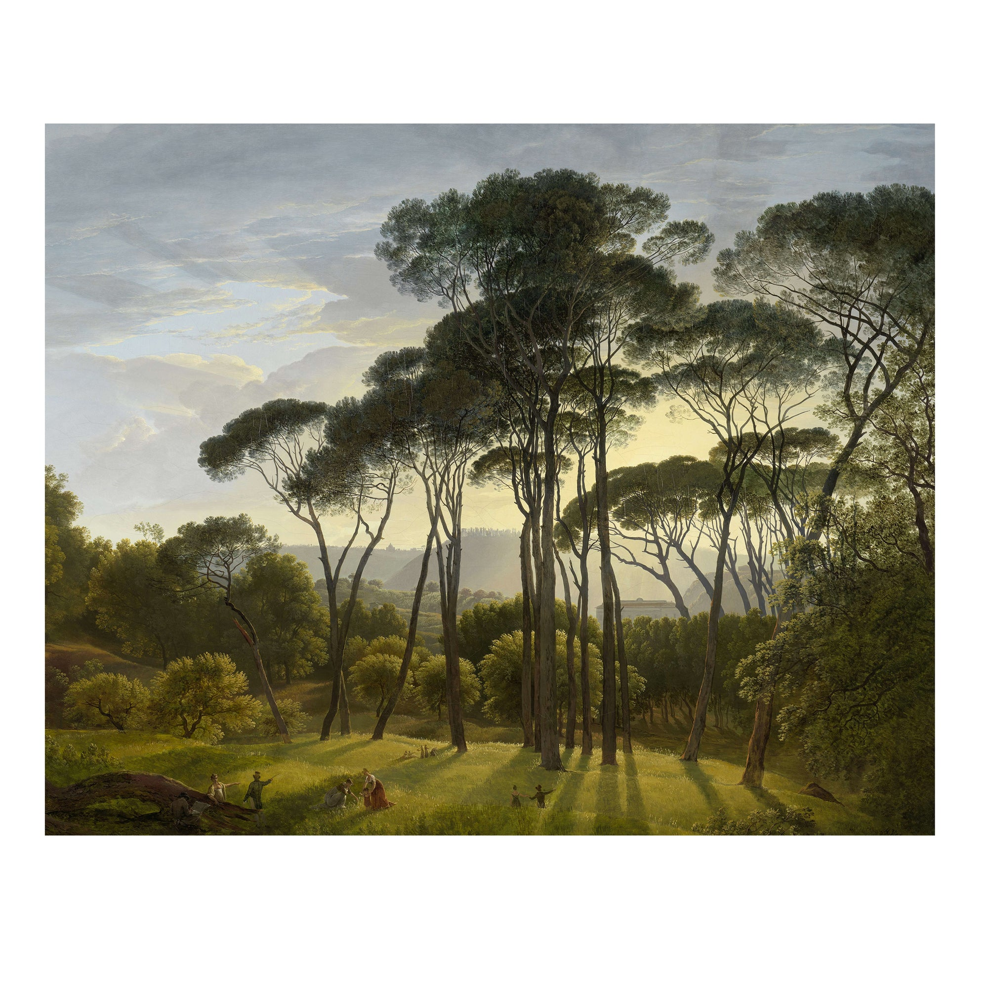 Italian landscape painting from the Golden Age